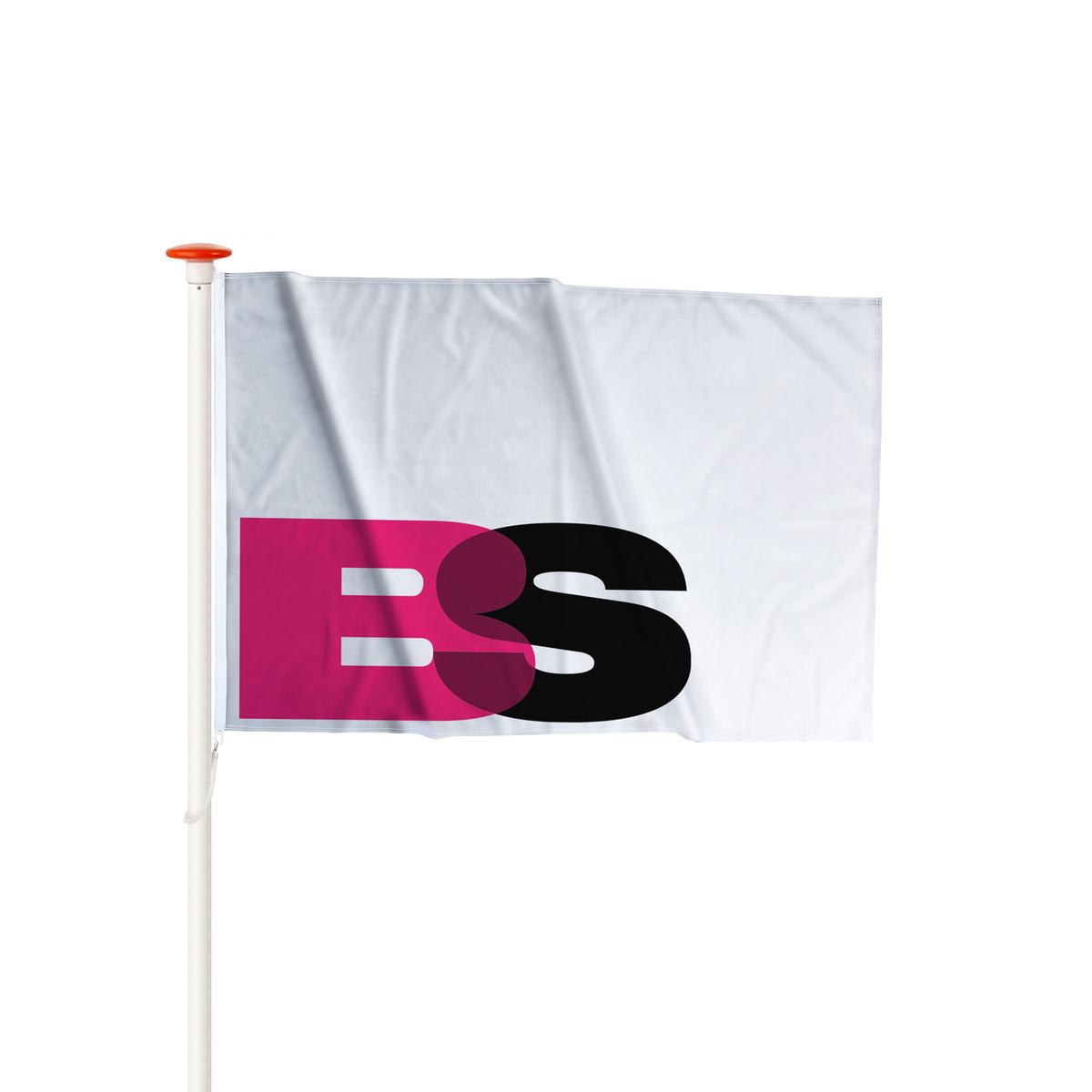 Rechte vlag Rechte vlag op maat