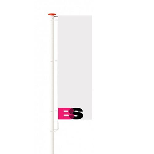 Vlaggenmast polyester 6 M
