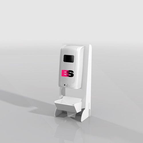 Desktop dispenser wit bedrukt