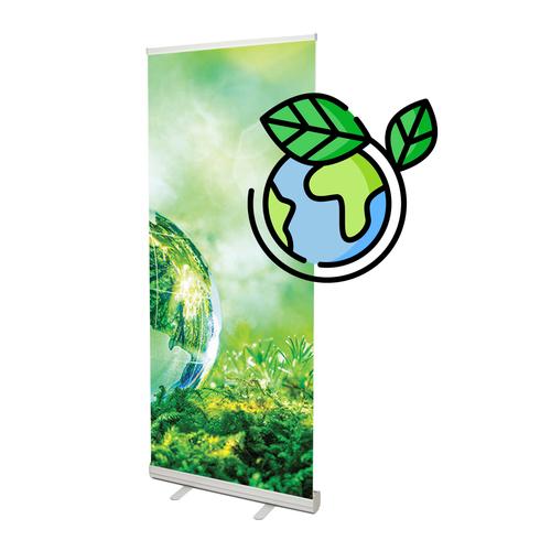 Duurzame roll up banner 85x200 cm